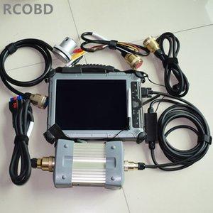для MB star super c3 с ноутбуком IX104 i7 4G планшет с ssd 128gb rs232 для rs485 кабель полный набор готов к использованию