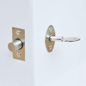 Fechamento de aço inoxidável do tubo da porta, fechamento de janela, parafuso inoperante da segurança com chave