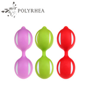 Classic Geisha Vaginal Ball 100% Medical Silicon Balls Sex Toys Vaginal Ball Tighten Exercise Dumbbells Sex Toys For Women Sex Products