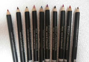 Livraison gratuite! nouveau maquillage LIP EYE LINER PENCIL Cosmétique EYE / LIP LINER CRAYON 1.5G couleurs mélangées (60pcs / lot)