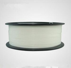 Freeshipping 1kg 1.75mm filament souple blanc, filament Flex, filament de caoutchouc pour imprimante 3d