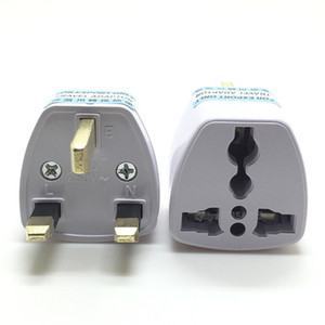 Universal EU US AU to UK AC Travel Power Plug Charger Adapter Converter Travel Free Shipping