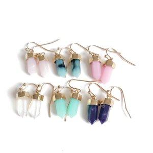 Livraison gratuite nouvelle arrivée mode coloré boucle d'oreille, Hot populaire Sweet Simple Fishhook boucle d'oreille, élégante boucle d'oreille