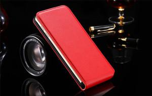 Custodia in pelle Flip Open Up And Down Cover per cellulare con fibbia magnetica per Iphone 7