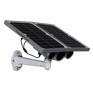 الطاقة الشمسية الجديدة WIFI ONVIF كاميرا IP مع المراقبة عن بعد للرؤية الليلية عبر الإنترنت من قبل التطبيق المجاني عالية الطاقة لوحة البطارية الشمسية