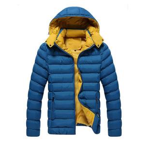 En gros- 2017 Hommes Manteaux D'hiver Manteaux Parkas Hommes Coton Survêtement Grande Taille M-3XL Super Chaud Parkas Design À Capuche Homme Vers Le Bas