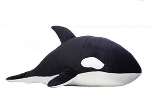 "Wholesale HOT 28"" Anime watobi Swim Club Tachibana Makoto ORCA Whale Plush Toy Doll XMAS Gifts"