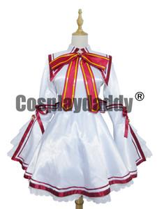 Rewrite Cosplay Akane Senri Schulmädchen Uniform Kleid Kostüm H008