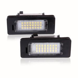 LED Plaka Işıklar SMD3528 6000K Plaka Işık İçin BMW E82 E88 E90 E92 E93 E39 E60 Sedan M5 E70 X5 E71 E72 X6