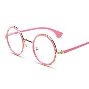 Wholesale- 2017 New Fashion Women's Elegant Round Eye Glasses Frame Eyewear Glasses Frames Oculos De Grau