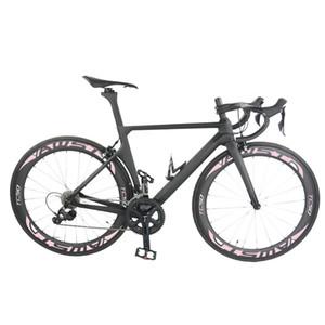 logo personnalisé et modèle mat 1k T1100 cadre de vélo carbone ensemble complet Toray T1100 cadre vélo de route cadre carbone Chine avec 2 ans de garantie