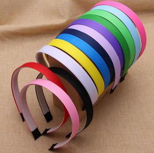 Hohe Qualität explosive DIY Schmuck Haar Kreis Kunststoff Aufkleber Ribbon Tuch schwarz Farbe Stirnband TG060 Mix Bestellung 30 Stück viel