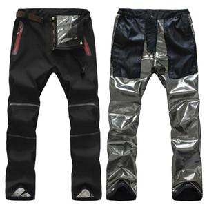Profesyonel Açık Sıcak Pantolon Tutmak Erkekler, kayak Kamp Yürüyüş Trekking Avcılık Balıkçılık Pantolon, Sıcaklık Su Geçirmez Rüzgar Geçirmez Pantolon Erkek