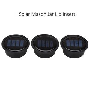 1 pc Solar Mason Jar Frasco de Inserção-LED Mason Jar Luz Solar para Frascos De Vidro Mason e Jardim Decoração Solar luzes