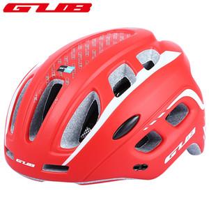 GUB Ciclismo сверхлегкий 19 вентиляционные отверстия Велоспорт MTB горная дорога велосипед шлем женщины мужчины интегрально формованные козырек EPS+PC +B