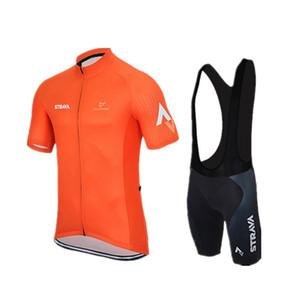 Strava Summer Cycling Jerseys Ropa Ciclismo / Ropa de bicicleta transpirable / Ropa deportiva de bicicleta de secado rápido Ropa Ciclismo / GEL Pad Bike Bib Pants