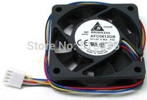 Livraison gratuite Delta Electronics AFC0612DB-F00 Ventilateur de refroidissement 60x60x15mm, 7200 tr / min, 29,24 PCM, connecteur 4 broches 47,5 dBA PWM