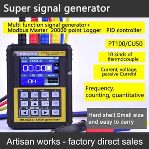 Freeshipping 4-20 мА калибровочный генератор сигналов текущее напряжение PT100 термопара давления передатчик регистратор ПИД частоты