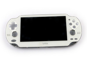 White Original New for PSVita 1000 PSV1000 PSV 1000 LCD Display with Touch Screen LCD Digital Assembled Black With Frame