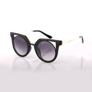 Occhiali da sole marca AOOKO occhiali da sole 78114 con montatura in lega per occhiali da sole donna moda gatti occhiali da sole 6 colori famosi in tutto il mondo occhiali da sole