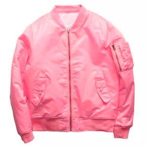 Ma1 Bomber Jacket Fashion Thin Pilot Anarchy Outerwear Ma1 Coats Men Waterproof Flight Commemorate Coat