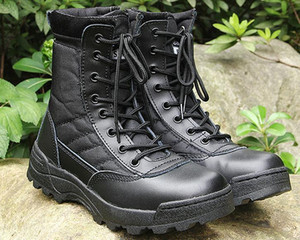 2017 Uomini Army Boots Mens Desert Military SWAT Combat Primavera Autunno traspirante Stivaletti Uomini Botas Top Quality
