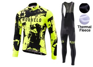 2021 Winter Morvelo Cyclisme Jersey Pantalon Set Ropa Ciclismo Sobycle Thermal Thermique Curnling Cyclisme Vêtements de vélo Vêtements de vélo