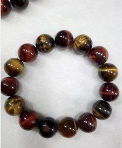 Бесплатная доставка китайский ветер 7 цвет тигровый глаз камень бусины бусины браслет C1