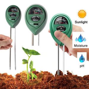 3 en 1 humidificateur de sol testeur de sol humidité / lumière / pH valeur jardin pot outil de capteur de pelouse ont en stock WX9-31