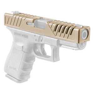 Nueva llegada de la pistola Caso táctico táctico Accesorios de diapositivas cubra la piel para G17 G19 envío CL33-0213