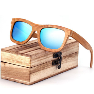 ZA03 النظارات الشمسية النظارات الشمسية المستقطبة الرجعية اليدوية الخيزران الخشب نظارات أزياء النظارات الشمسية شخصية للرجل والمرأة بالجملة