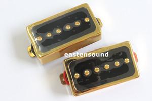 Ücretsiz Kargo NB 1 takım lp gitar manyetikler altın fildişi gitar manyetikler ile pickups halkaları