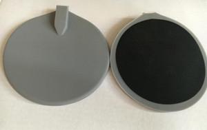 Les électrodes de silicium rondes de 95 * 95 mm de 10 morceaux entourent des électrodes de carbone de dizaines / électrodes de caoutchouc de silicone pour des dizaines machine