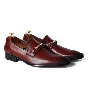 2017 высокое качество Оптовая дышащая натуральная кожа мужчины платье обувь ручной мокасины мужчины квартиры бесплатная доставка эспадрильи