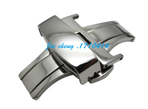 JAWODER Watchband 10 12 14 16 18 20 22 24mm NEW High Quality Stainless steel Watch Band strap Buckle Deployment Clasp
