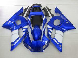 fairings جزء موتو انخفاض الأسعار لياماها YZF R6 98 99 00 01 02 أزرق أسود هدية عدة YZFR6 1998-2002 OT46