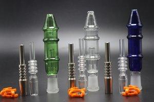 Haute Qualité 10 mm 14 mm Joint titane embout en plastique Keck clip 3 couleurs Filtre Pipes Smoking Verre Bongs pipe à eau