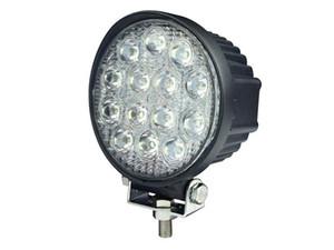 Автомобильные аксессуары круглые 42 Вт светодиодный рабочий свет для грузовика, хорошие водонепроницаемые автозапчасти 42 Вт заводская цена привода светодиодный прожектор 4x4