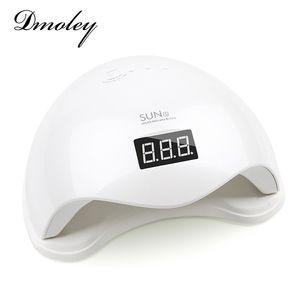 Nail al por mayor Dmoley 48W lámpara LED UV Secadora sun5 clavo de la lámpara con pantalla LCD Auto sensor de manicura máquina de curado UV Gel Modo 2 polaca