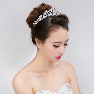 Femmes Marié Tiara Couronne Bandeau Cristal Diamant Cheveux Bijoux Mariée De Mariage Couronne Meilleures Ventes Cheveux Accessoires Headpieces Coiffe