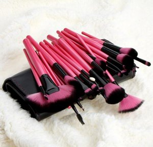 32 PZ Set Pennelli per trucco professionale Pennelli per set Fondotinta per cipria Make Up Brush Kit per fondotinta