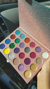Vendita calda CLEOF Cosmetics Unicorn Glitter Eyeshadow Palette 24 colori Makeup Eye Shadow Palette dhl trasporto veloce