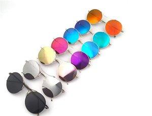 Vintage Oversize Round Sunglasses Women Alloy Around Hollow Frame Progettista di marca Moda Circling Frog Occhiali da sole UV400