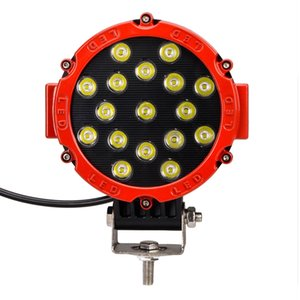 51W LED working lights SUV modified car dome led front light camping 1pcs