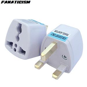 Fanatisme Top qualité AU UE US UK Plug Pour adaptateur convertisseur universel d'alimentation CA Chargeur connecteur UK Voyage Prise électrique Adaptateur