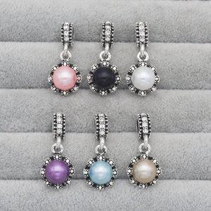 2017 new pearl set auger Os fabricantes de estilo europeu e americano que vendem liga pulseira diy acessórios pingente