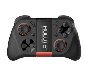 MOCUTE 050 VR Game Pad Joystick Android Controlador Do Bluetooth Selfie Controle Remoto Do Obturador Gamepad para PC Telefone Inteligente + titular
