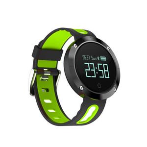 Dm58 nabız smart watch ip68 su geçirmez kan basıncı spor izci ios iphone 8 android için spor izle