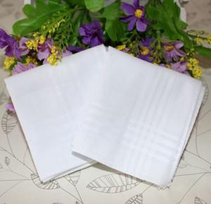 34cm grande el nuevo 100% algodón satinado tabla masculina pañuelo remolcadores pañuelo cuadrado más blanca 2017 caliente textiles para el hogar