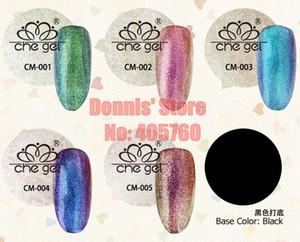 Wholesale- Che Gel Series 6G Changing Colors Chameleon Gel UV LED Soak Off Nail Art Builder Gel Polish DIY Creative Manicure Tip
